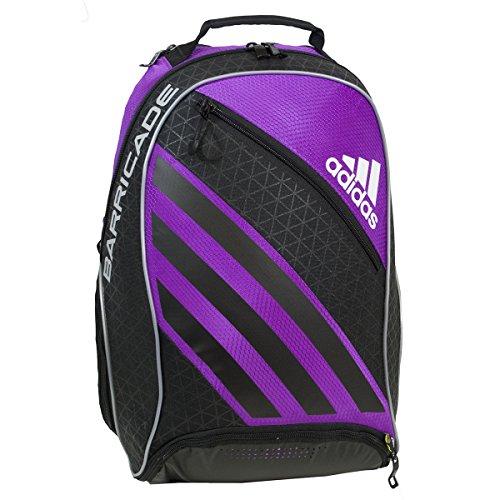 adidas Barricade IV Tennis Backpack, Flash Pink/Black, One Size