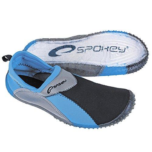 Blau Erwachsenen Aquaschuhe Surf Schwarz Spokey Badeschuhe Surfschuhe 6UzHxX