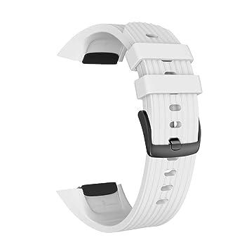 Henreal Correa de Reloj de Silicona con Correa de Repuesto para Samsung Gear Fit2 / 2 Pro