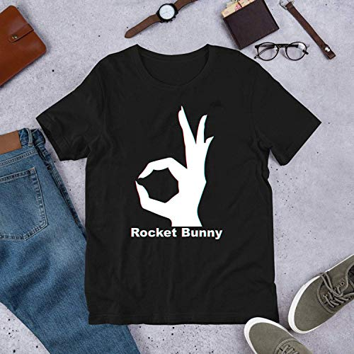 Rocket Bunny - 3D Logo T-Shirt - Hoodie -Tank -