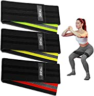 Tribe Lifting Fabric Resistance Bands Women and Men - Booty Bands for Women - Thigh Bands for Workout Bands fo