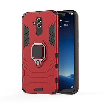 2a310fad394 Huawei Mate 20 Lite Funda, MHHQ 2in1 Armadura Combinación A Prueba de  Choques Heavy Duty Escudo ...