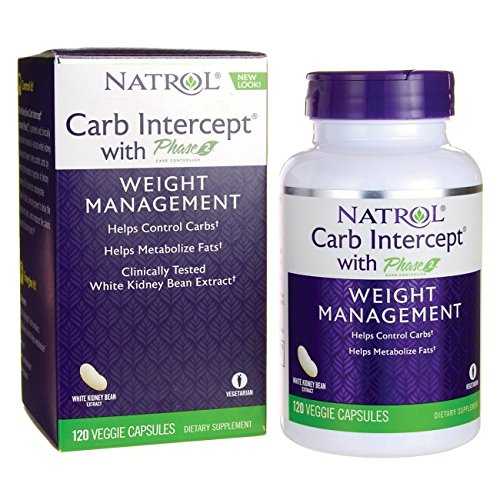 Carb Intercept with Phase 2 120 Veg Capsules by Natrol