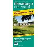 Elberadweg 2, Dessau - Wittenberge: Leporello Radtourenkarte mit Ausflugszielen, Einkehr- & Freizeittipps, wetterfest, reissfest, abwischbar, GPS-genau. 1:50000 (Leporello Radtourenkarte/LEP-RK)