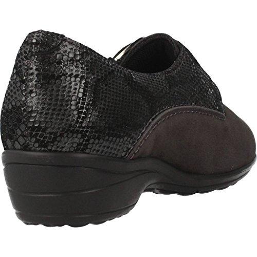 Mujer De 6988 Gris Gris Zapatos Marca Para G Cordones Mujer Pinosos Pinosos Color Modelo fxzpU6qz