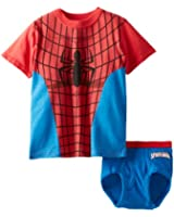 Marvel Little Boys' Spiderman Underwear Set