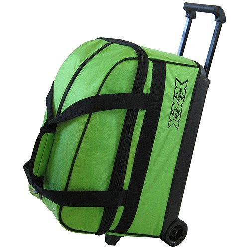 Double Frame Bag (Tenth Frame Basic Double Roller Bowling Ball Bag (Lime))
