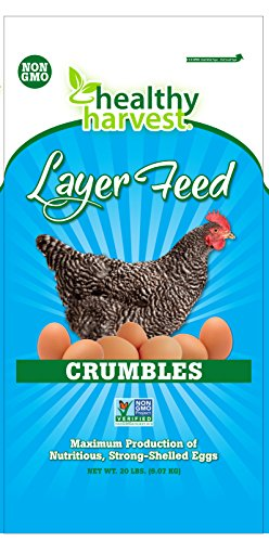 Cheapest Healthy Harvest 1 Piece 17-Percent Layer Crumbles for Poultry, 20 lb Check this out.