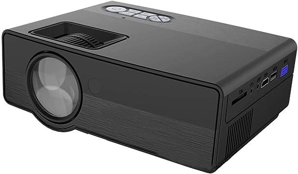 XZANTE M450 LED WiFi Portátil Teatro de Casa HD Mini Proyector ...
