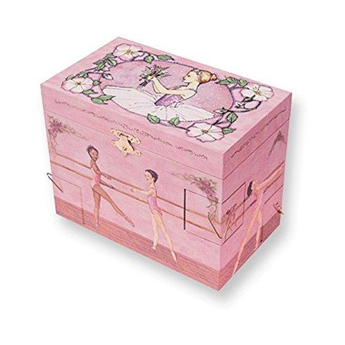 Childrens Ballet School Musical Jewelry Box