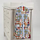 Carousel Designs Patchwork Plaid Diaper Stacker