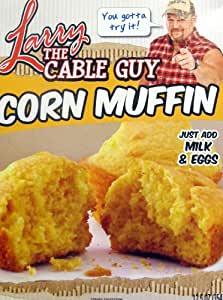 Larry the Cable Guy Corn Muffin Mix 12.5 Oz. Box....You Gotta Try It! Git-R-Done