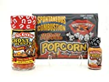 Spicy Ghost Pepper Sweet Heat Set - Jellybeans Popcorn and Hot Sauce
