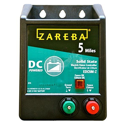 Zareba 5 Mile DC Electric Fence Energizer by BFF