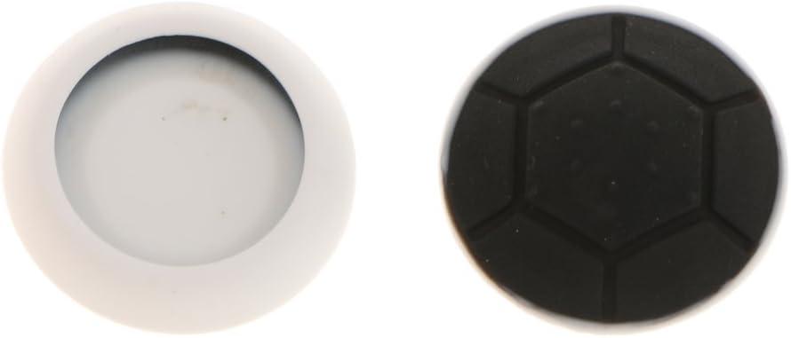 1ペア シリコン ジョイスティック 親指スティック グリップ キャップ PS4 PS3 Xbox 360に対応 超薄型最軽量 傷つけ防止 ブラック