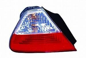 Depo 317-1977PXASVCR Honda Accord Coupe Diamond Tail Light Assembly
