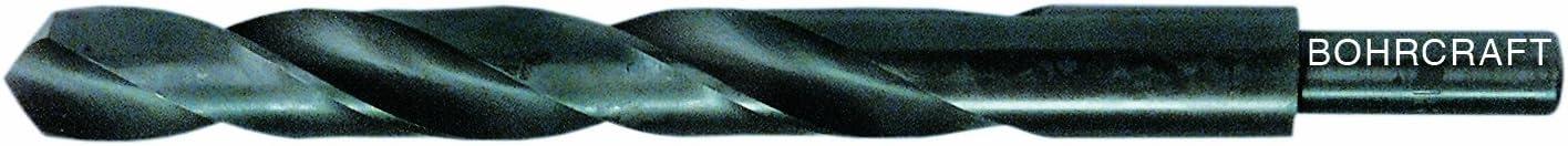 Bohrcraft Spiralbohrer DIN 338 HSS rollgewalzt Typ N Schaft 10 mm 11090701500 15 mm in BC-Tasche 1 St/ück