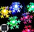Solar String Light, Inngree 20 ft 30 LED Waterproof Crystal Bubble Solar Fairy String Lights Christmas Lights Solar Powered String lights for Garden, Patio, Yard, Home, Christmas , Parties