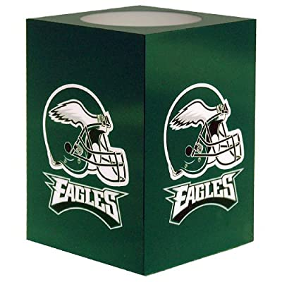 NFL Philadelphia Eagles Square Flameless Candle