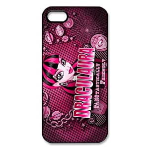 Customize Cartoon Game Monster High Back Cover Case for iphone 5 5S JN5S-2452