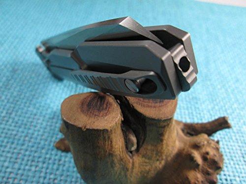 Twosun EDC No Screw Tenon-And-Mortise Work Titanium M390 Folding Knife TS88 by TwoSun (Image #8)