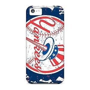 Iphone 5c NBpVd7291FECBi New York Yankees Tpu Silicone Gel Case Cover. Fits Iphone 5c