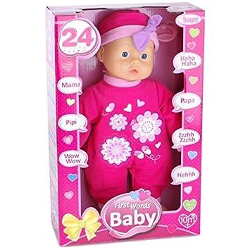 Amazon.es: Bayer Design - Muñeca bebé 33 cm, Las Primeras ...