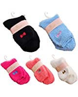 FUNOC Womens Supersoft Thicken Cozy Home Fuzzy Sleep Crew Socks