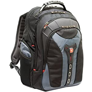 "SwissGear 17"" Gray Notebook Backpack"