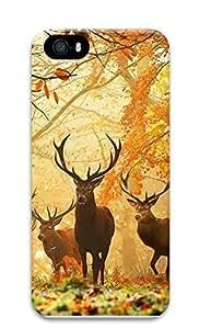 iPhone 5 5S Case Forest Elf Elk 3D Custom iPhone 5 5S Case Cover wangjiang maoyi