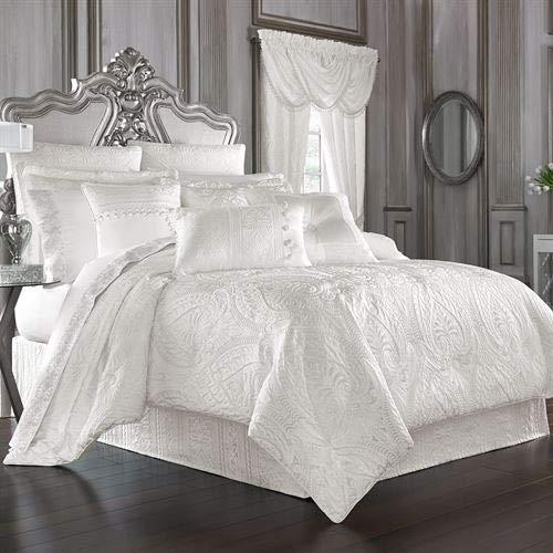 J Queen New York, Inc. Bianco Comforter Set White