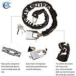 EUROXANTY-Catena-con-lucchetto-in-acciaio-al-manganese-per-biciclette-scooter-moto-antifurto-4-modelli-a-scelta