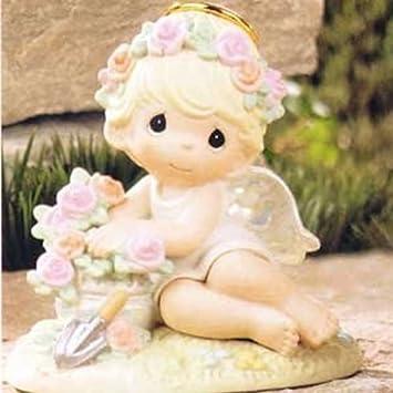 Wonderful Precious Moments   Garden Angels   U0026quot;Humble Prayers Make Hearts  Bloomu0026quot; #114029