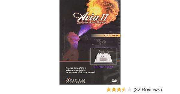 amazon com avia ii guide to home theater avia ii guide to home rh amazon com Home Theater Design Tools Yheater Manual