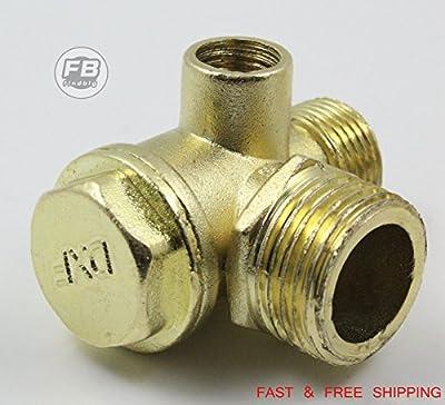 USA Premium Store Air Compressor Check Valve Central Pneumatic 40400 90 Deg