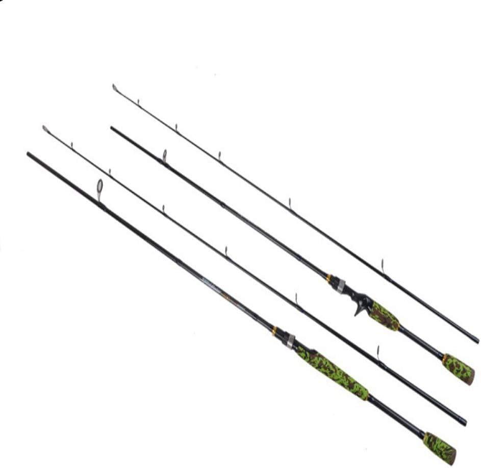L.J.JZDY Caña de Pescar Spinning Rod 1.5-7g Lure Weight Ultralight ...