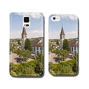 Murten, Old Town, historic church, Summer, Switzerland cell phone cover case Samsung S6