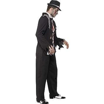 Zombie Gangster Costume (disfraz): Amazon.es: Juguetes y juegos