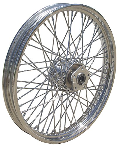 Ultima Complete Chrome 60 Spoke Front Wheel 21 x 2.15