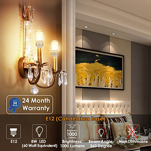Albrillo-E12-LED-Bulb-100W-Equivalent-Pack-of-3
