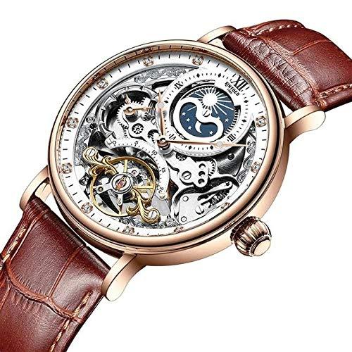 Uriel Mechanical Watch (Gold Brown)