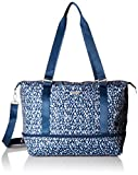 Baggallini Expandable Carry on Duffel, Blue Prism , One Size