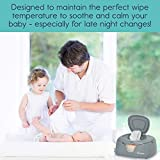 hiccapop Baby Wipe Warmer and Baby Wet Wipes