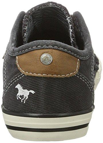 Mustang 5803-314-9, Zapatillas Unisex Niños Negro (9 Schwarz)