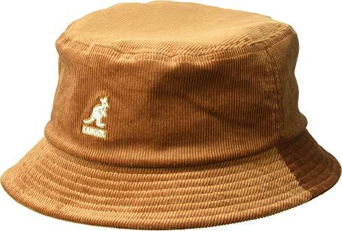 - Kangol Men's Cord Bucket HAT, Wood, L