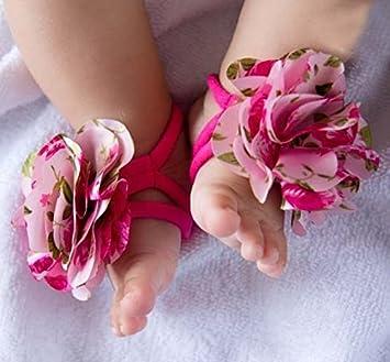 Baby Flower Feet Barefoot Sandals Pre-Walkers