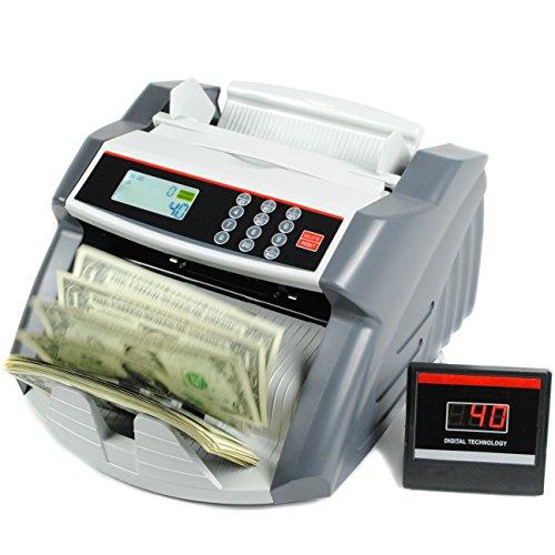 Cash Designs (C4C US Dollar Bill Money Counter - Portable Design - Voice Alerts - 1000 Cash Bills Per Minute)