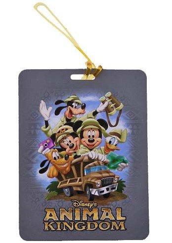 Disney Parks - Luggage Tag - Animal Kingdom - Mickey & Friends