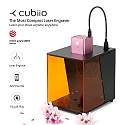 Cubiio: The Most Compact Laser Engraver - Pink