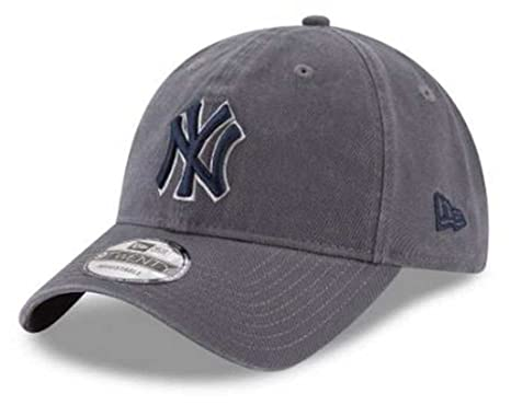 4ae9c1d5784fc Image Unavailable. Image not available for. Color  New Era MLB New York  Yankees Graphite Core Classic 9Twenty Baseball Hat 11591580